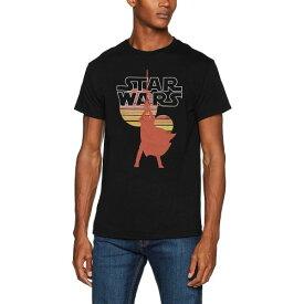 (スター・ウォーズ) Star Wars オフィシャル商品 ユニセックス レトロ プリント 半袖 Tシャツ 【楽天海外直送】