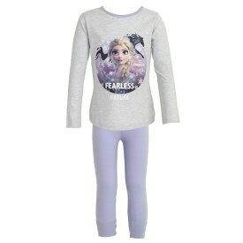 (ディズニー) Disney アナと雪の女王2 オフィシャル商品 子供用 エルサ キャラクター 長袖 パジャマ 上下セット 女の子 【楽天海外直送】