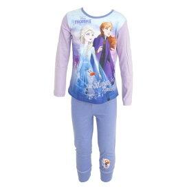 (ディズニー) Disney アナと雪の女王2 オフィシャル商品 子供用 キャラクター 長袖 パジャマ 上下セット 女の子 【楽天海外直送】