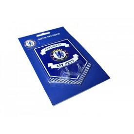 チェルシー フットボールクラブ Chelsea FC オフィシャル商品 キーフックつき メタルプレート 【楽天海外直送】