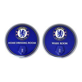 チェルシー フットボールクラブ Chelsea FC オフィシャル商品 フック (2個セット) 【楽天海外直送】