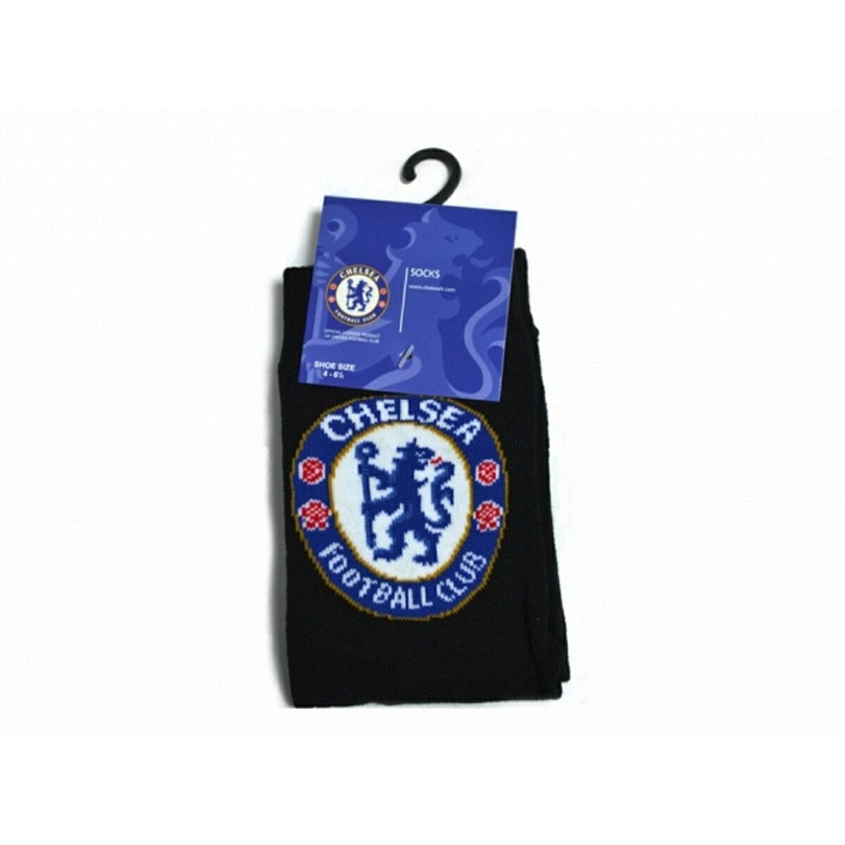 チェルシー フットボールクラブ Chelsea FC オフィシャル商品 メンズ ロゴ ソックス 靴下 (1足組) 【楽天海外直送】