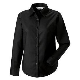 (ラッセル) Russell レディース イージーケア 長袖オックスフォードシャツ ブラウス ワイシャツ トップス 女性用 【楽天海外直送】