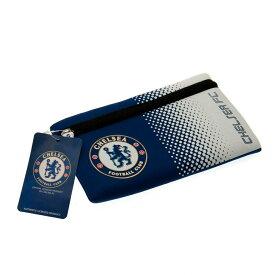 チェルシー フットボールクラブ Chelsea FC オフィシャル ロゴ ペンケース ポーチ 【楽天海外直送】