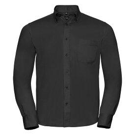 Russell長袖クラシックコットンツイルシャツワイシャツトップス男性用 【楽天海外直送】