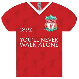 リバプール フットボールクラブ Liverpool FC オフィシャル商品 サッカーシャツ型 ブリキ看板 【楽天海外直送】