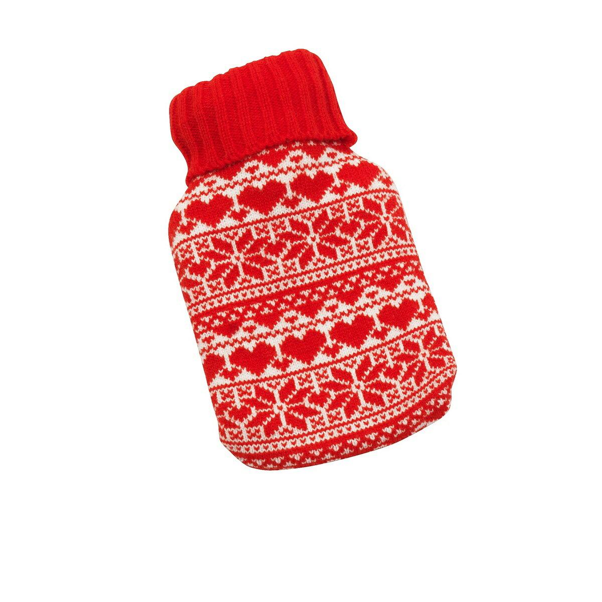 クリスマス ノーディック柄 カバーつき湯たんぽ 2点セット 【楽天海外直送】
