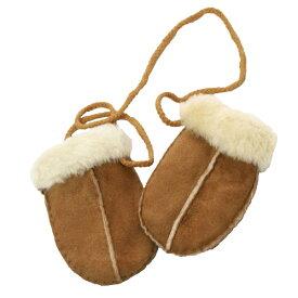 (イースタン・カウンティーズ・レザー) Eastern Counties Leather 赤ちゃん・ベビー用 シープスキン ミトン 手袋 【楽天海外直送】