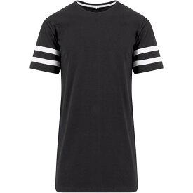 (ビルド・ユア・ブランド) Build Your Brand メンズ ストライプ ジャージー 半袖 Tシャツ カットソー 【楽天海外直送】