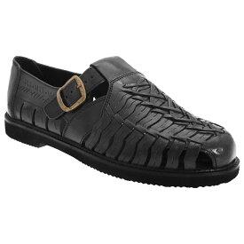 (シミター) Scimitar メンズ レザー インターレースサンダル 紳士靴 カジュアルシューズ 普段履き 男性用 【楽天海外直送】