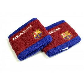 FCバルセロナ フットボールクラブ FC Barcelona オフィシャル商品 スポーツ 汗取り リストバンド 2個セット 【楽天海外直送】