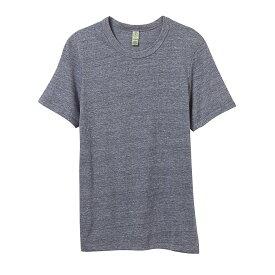(オルタナティブ・アパレル) Alternative Apparel メンズ エコジャージ クルーネック Tシャツ 半袖 トップス カットソー 【楽天海外直送】