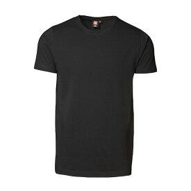 (アイディー) ID メンズ 適度にスリムなフィット スリムライン 半袖 ストレッチTシャツ ショートスリーブ トップス 定番 男性用 【楽天海外直送】