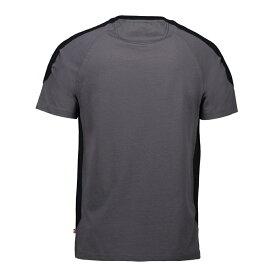 (アイディー) ID メンズ プロウェア コントラスト レギュラーフィット 半袖Tシャツ カットソー ショートスリーブトップス 定番 男性用 【楽天海外直送】