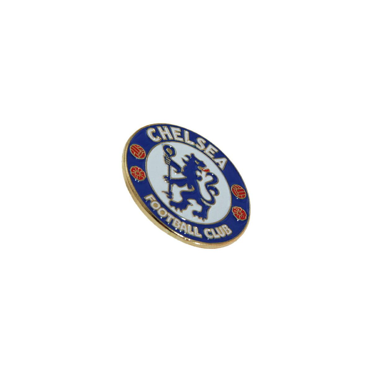 チェルシー フットボールクラブ Chelsea FC オフィシャル商品 ロゴ ピンバッジ 【楽天海外直送】