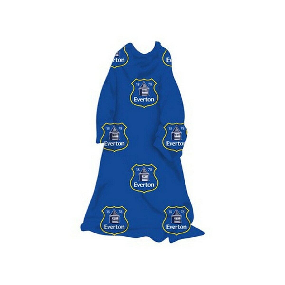 エバートン フットボールクラブ Everton FC オフィシャル商品 子供用 袖つき フリースブランケット 毛布 冬 【楽天海外直送】