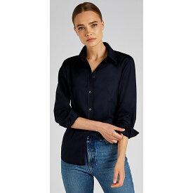 (カスタム・キット) Kustom Kit レディース ワークウェア 長袖オックスフォードシャツ ワイシャツ ブラウス 女性用 【楽天海外直送】