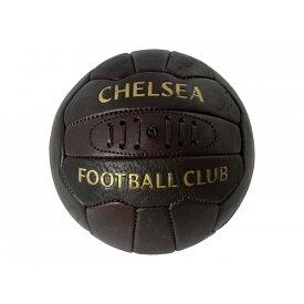 チェルシー フットボールクラブ Chelsea FC オフィシャル商品 レトロ ヘリテージ レザー サッカーボール 【楽天海外直送】