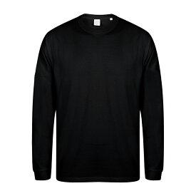 (スキニー・フィット) Skinni Fit メンズ ドロップショルダー スローガン 長袖Tシャツ カットソー トップス 【楽天海外直送】