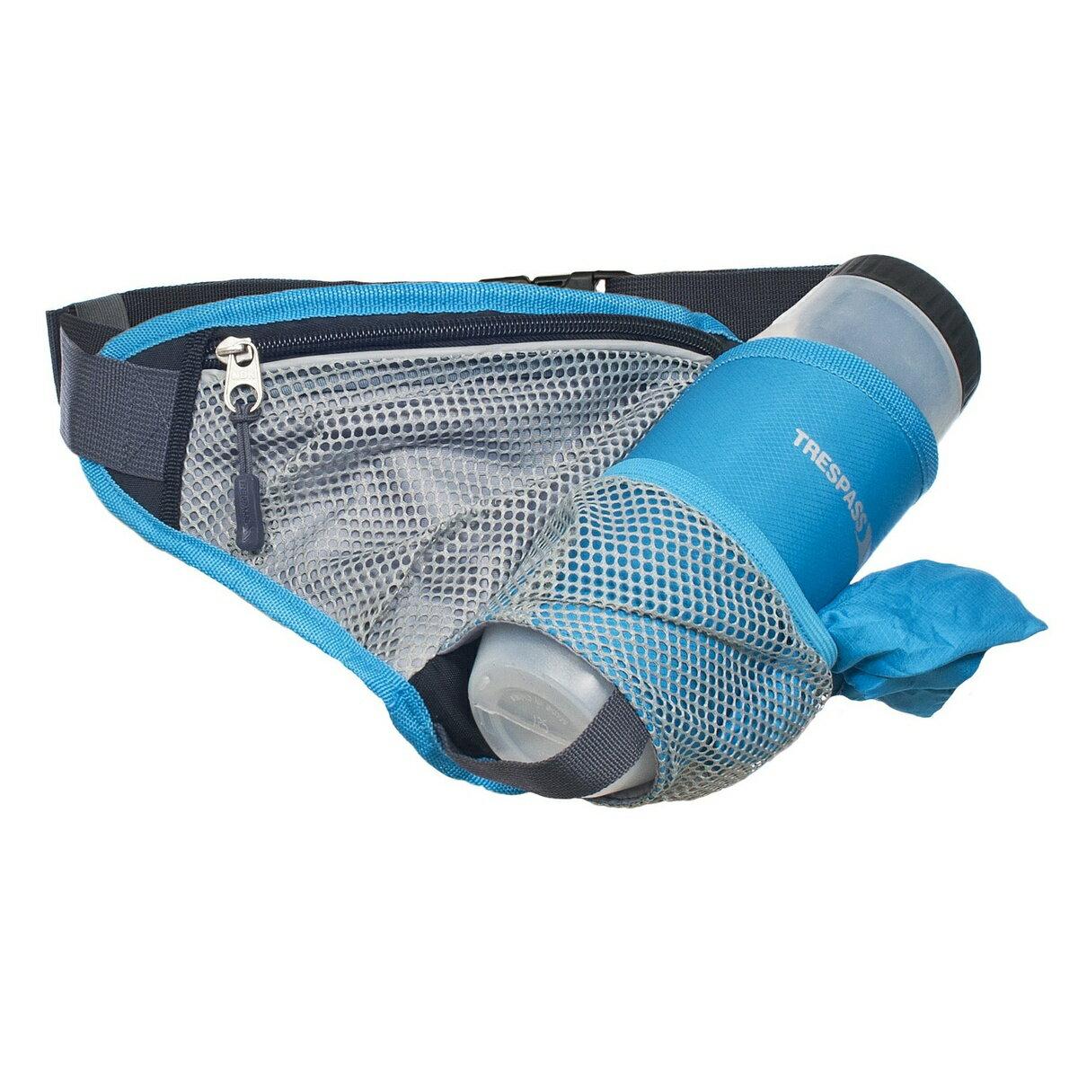 (トレスパス) Trespass ワディー 700mlドリンクボトル(BPAフリー)つき スポーツ ウエストポーチ ウエストバッグ ヒップパック 【楽天海外直送】