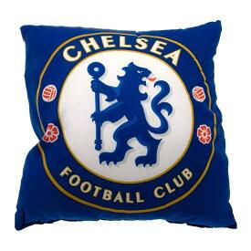 チェルシー フットボールクラブ Chelsea FC オフィシャル商品 クレスト クッション 【楽天海外直送】