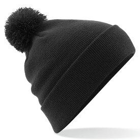 (ビーチフィールド) Beechfield ユニセックス Original ポンポンつきニット帽 バブルハット ニットキャップ ビーニーハット 帽子 冬 【楽天海外直送】