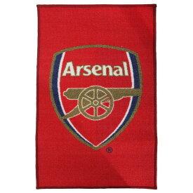 アーセナル フットボールクラブ Arsenal FC オフィシャル クレストデザイン フロアラグ フロアマット ミニカーペット サッカー 【楽天海外直送】