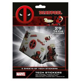 (デッドプール) Deadpool オフィシャル商品 Merc With A Mouth ステッカー シール セット (29ピース) 【楽天海外直送】