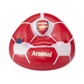 アーセナル フットボールクラブ Arsenal FC オフィシャル商品 子供用 空気注入式 エアーチェア 【楽天海外直送】