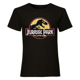 (ジュラシック・パーク) Jurassic Park オフィシャル商品 ユニセックス カラーロゴ Tシャツ 半袖 トップス 【楽天海外直送】