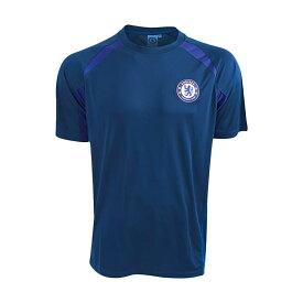 チェルシー フットボールクラブ Chelsea FC オフィシャル商品 メンズ ネイビー サッカーシャツ 【楽天海外直送】