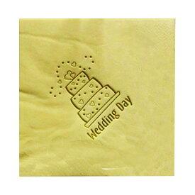 (エヌ・ピー・ケー) NPK 結婚式 ウェディングケーキ プリント ペーパーナプキン (15枚入) 【楽天海外直送】