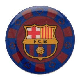 FCバルセロナ フットボールクラブ FC Barcelona オフィシャル商品 ポーカーチップ バッジ 飾り 【海外通販】