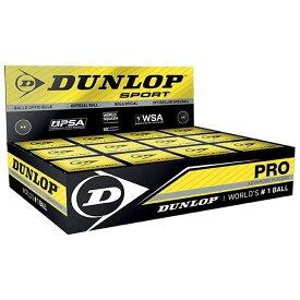 (ダンロップ) Dunlop Pro スカッシュ用 ボール (12個セット) 【楽天海外直送】