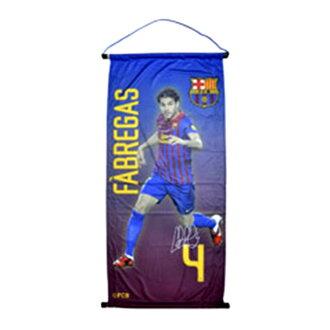 FC Barcelona football club FC Barcelona official product Cesc Fabregas pennant flag flag
