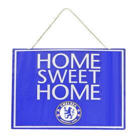 チェルシー フットボールクラブ Chelsea FC オフィシャル Home Sweet Home メタルプレートサイン サッカーノベルティー看板 【楽天海外直送】