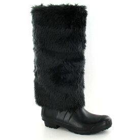 (スポットオン) Spot On レディース フェイクファー ウェリントンブーツ 婦人長靴 レインブーツ 女性用 【楽天海外直送】