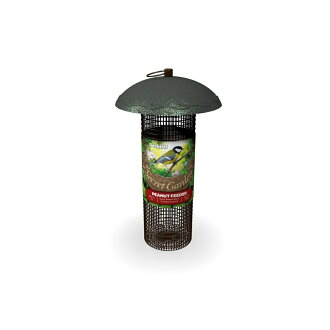 (pekisshu)把供Peckish野鸟使用的Secret Garden花生馈线饲料放进去观察野鸟