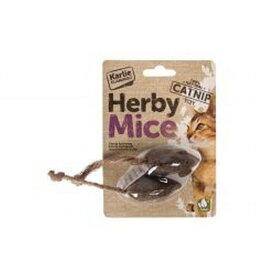 (ハービーマイス) Herby Mice ネコちゃん用 キャットニップ トイ 猫用 おもちゃ ねこじゃらし ペット用 【楽天海外直送】