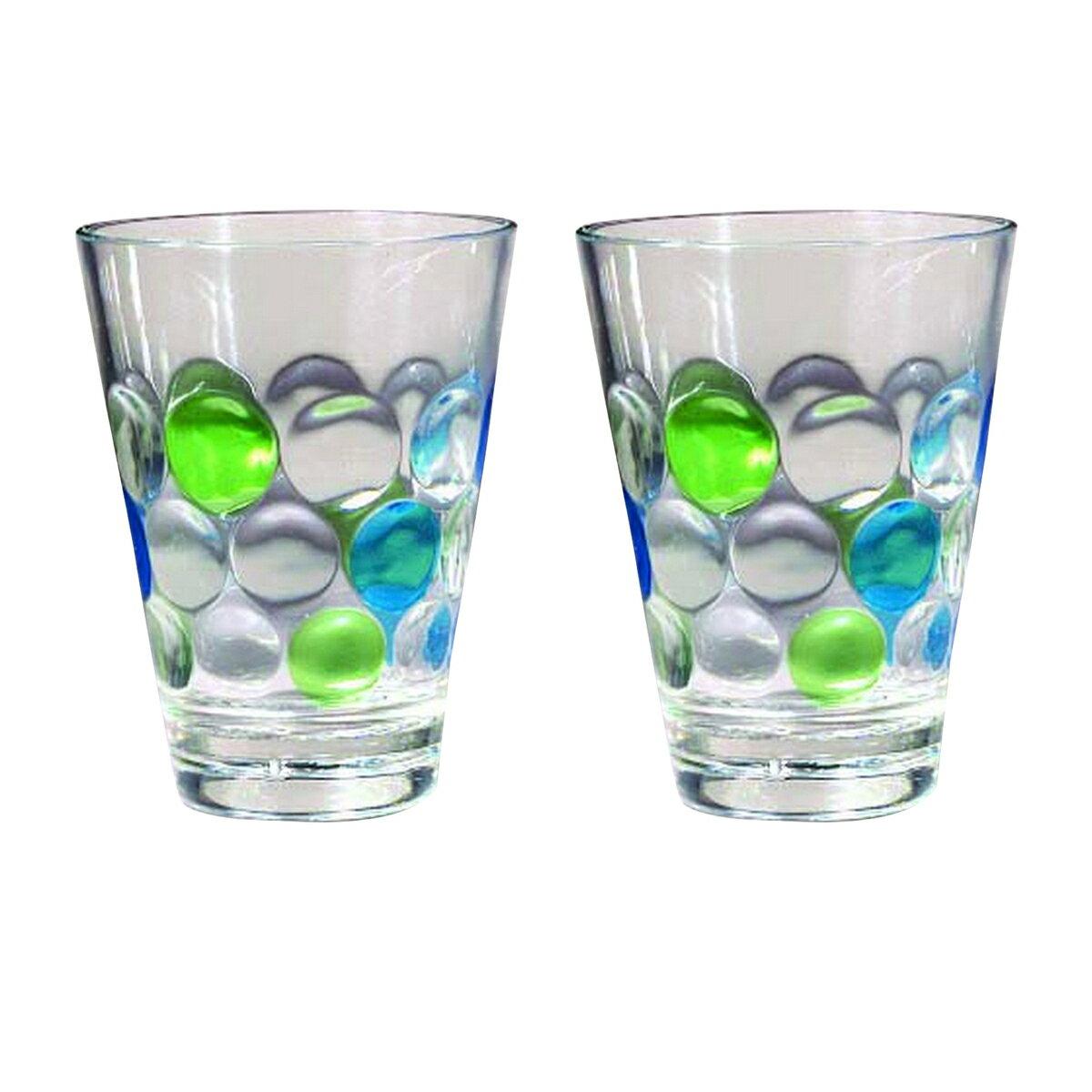 バブルズ ポリカーボネート グラス 2点セット コップ キャンプ アウトドア 【楽天海外直送】