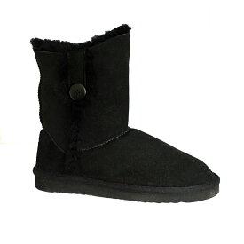 (イースタン・カウンティーズ・レザー) Eastern Counties Leather レディース Lacey シープスキン ボタン ブーツ 女性用ブーツ 【楽天海外直送】