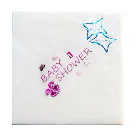 (エヌ・ピー・ケー) NPK ベビーシャワー Baby Shower プリント ペーパーナプキン (15枚入) 【楽天海外直送】