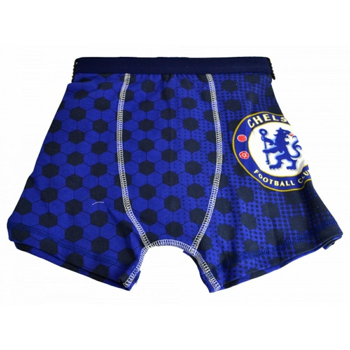 チェルシー フットボールクラブ Chelsea FC オフィシャル商品 子供用 ボクサーパンツ 【楽天海外直送】