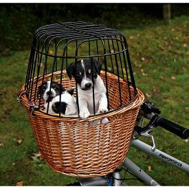 (トリクシー) Trixie ワンちゃん用 自転車バスケット ラティス 柵付き 犬用 かご サイクリング ペット用 【楽天海外直送】