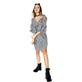 862eafa2103cc (ガールズ・オン・フィルム) Girls On Film レディース グラント ギンガム 刺繍 ラップドレス