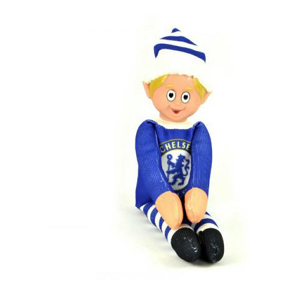 チェルシー フットボールクラブ Chelsea FC オフィシャル商品 クリスマス エルフ人形 【楽天海外直送】