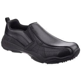 (スケッチャーズ) Skechers メンズ ラーソン・ベルト スリッポンシューズ 紳士靴 カジュアルシューズ 男性用 【楽天海外直送】