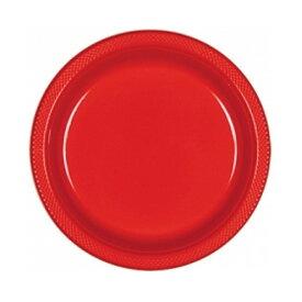 (アムスキャン) Amscan プラスチックプレート 紙皿 パーティー バーベキュー (20枚組) 【楽天海外直送】