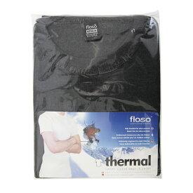 (フロソ) FLOSO メンズ あったか サーマル半袖Tシャツ 防寒・保温肌着 インナー 下着 カットソー トップス 男性用 【楽天海外直送】