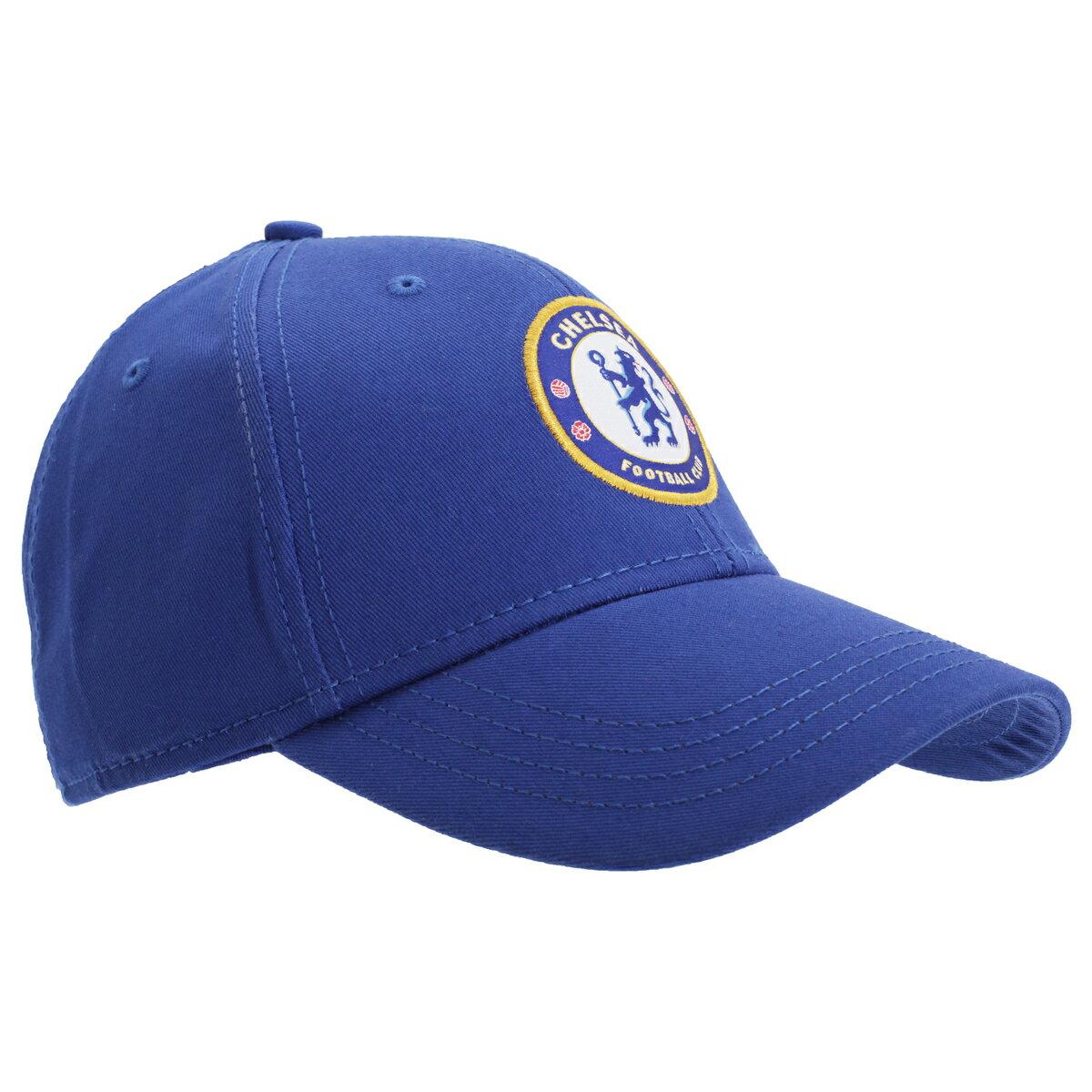チェルシー フットボールクラブ Chelsea FC オフィシャル商品 ユニセックス クレストデザイン キャップ 帽子 【楽天海外直送】